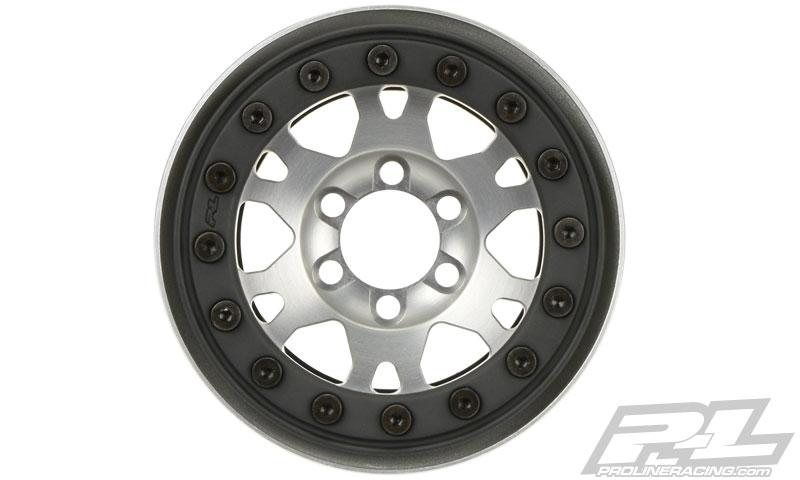 "Pro-Line Pro-Forge 1.9"" Anodized Alu Bead-Loc Wheels (5)"