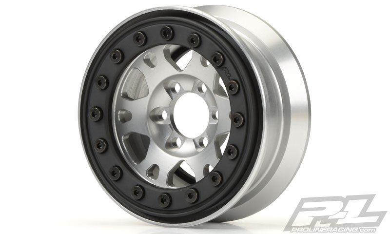 "Pro-Line Pro-Forge 1.9"" Anodized Alu Bead-Loc Wheels (7)"