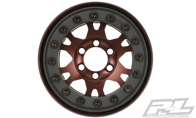 "Pro-Line Pro-Forge 1.9"" Anodized Alu Bead-Loc Wheels (8)"