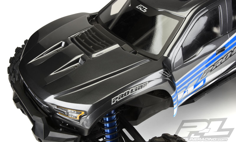 Pro-Line X-MAXX Pre-Cut 2017 Ford F-150 Raptor Clear Body (5)
