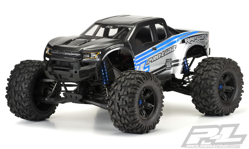 pro line traxxas x maxx pre cut 2017 ford f 150 raptor. Black Bedroom Furniture Sets. Home Design Ideas