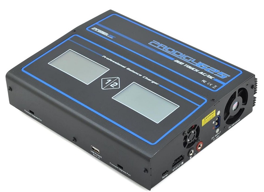 ProTek Prodigy 625 DUO Touch AC LiHVLiPo AC_DC Charger (1)