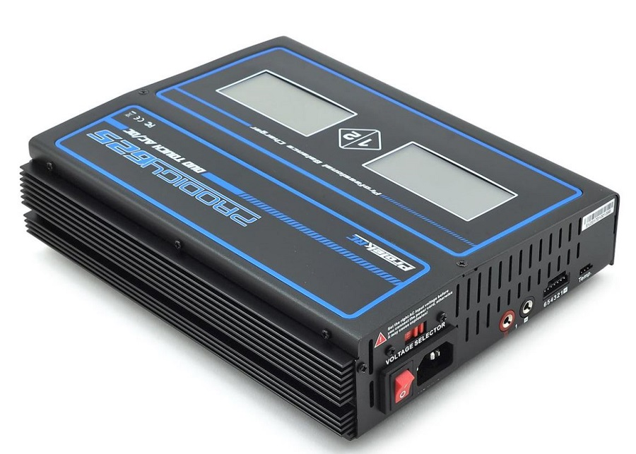 ProTek Prodigy 625 DUO Touch AC LiHVLiPo AC_DC Charger (2)
