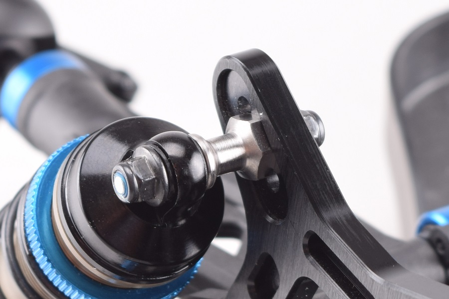 RDRP RC8B3 Titanium Shock Mounts (3)