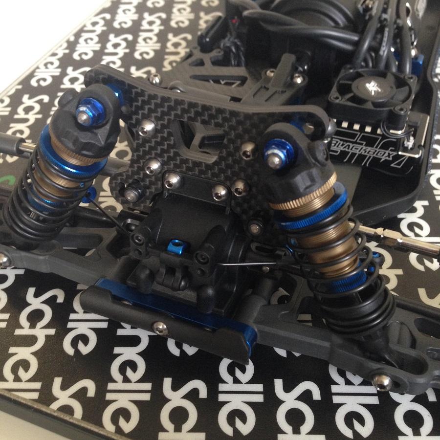 Schelle B64 Titanium Upper Screw Set (2)