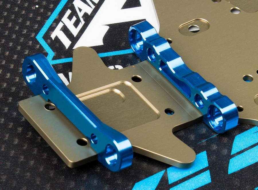 Team Associated RC8B3 High Roll Center Arm Mounts (1)