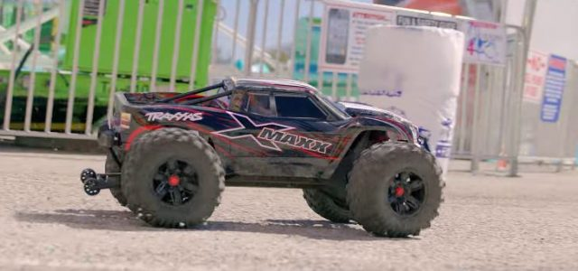 Traxxas X-Maxx 8s Punishes The Pavement [VIDEO]