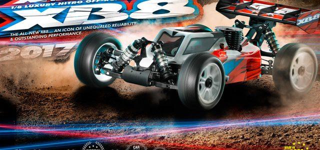 XRAY 2017 XB8 1/8 4wd Nitro Buggy Kit