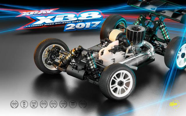 XRAY 2017 XB8 18 4wd Nitro Buggy Kit (3)