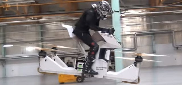 Of Course This Super-Dangerous Rideable Quad-Copter is Russian
