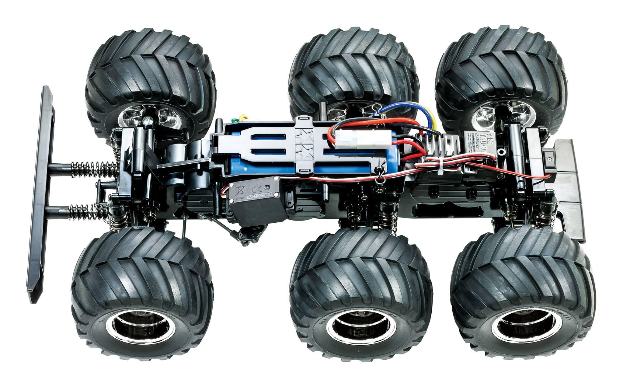 Tamiya KongHead 6X6 monster truck