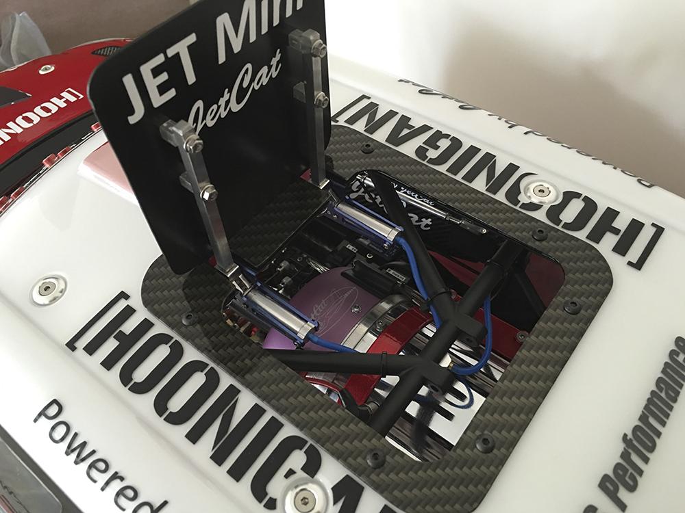 JetCat Turbine, Losi 5IVE, Power Systems