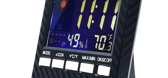 Black Fabrica Personal Color LCD Racing Display