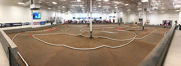 Hobby Action R/C Raceway is an indoor, clay track with heaps of grip and on par with some of the best facilities in North America.