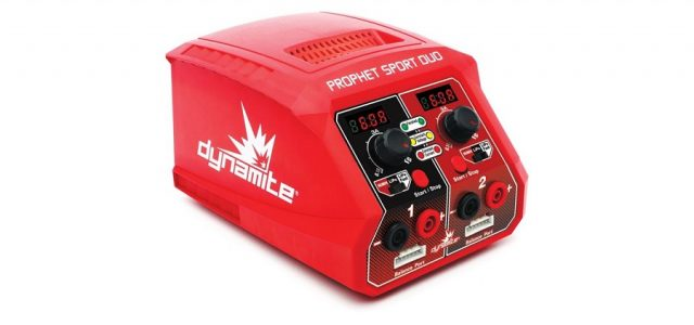 Dynamite RC Prophet Sport Duo 50W x 2 AC Battery Charger