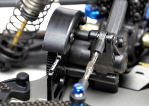 Exotek B6 Motor Plate & POM Spur Cover (2)