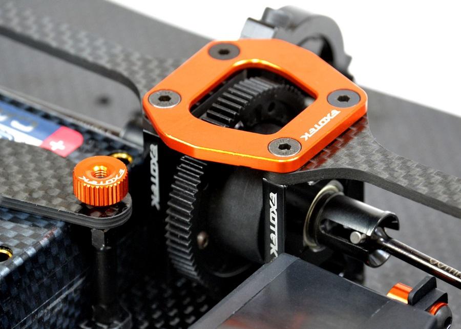 Exotek D413 4-Piece Split Motor Plate Set (2)