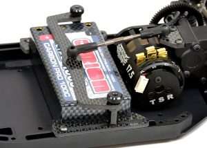 Exotek XB2 LiPo Cups And Plate Set (4)