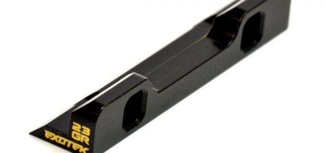 Exotek XRAY XB2 Brass Rear/Front Suspension Holder