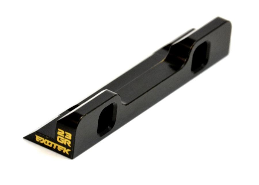 Exotek XRAY XB2 Brass Rear_Front Suspension Holder (1)