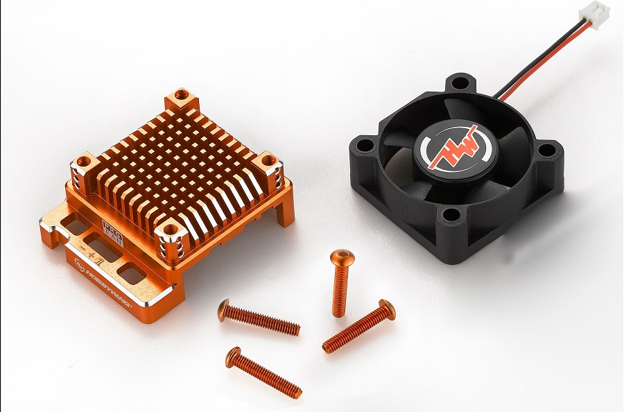 HOBBYWING Racing grade Heat-sink For The XR10 Pro ESC (2)