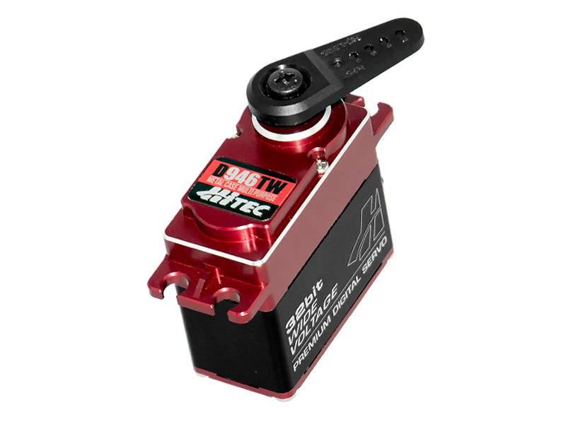 Hitec D-Series 32-Bit Metal Case Titanium Gear Servos (2)