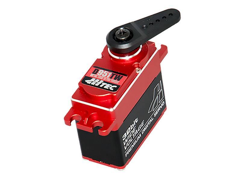 Hitec D-Series 32-Bit Metal Case Titanium Gear Servos (3)
