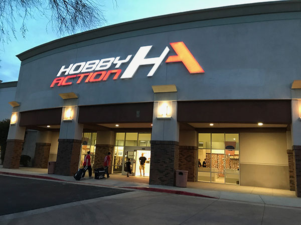The newly opened Hobby Action R/C Raceway is already being viewed as the top facility in Arizona.
