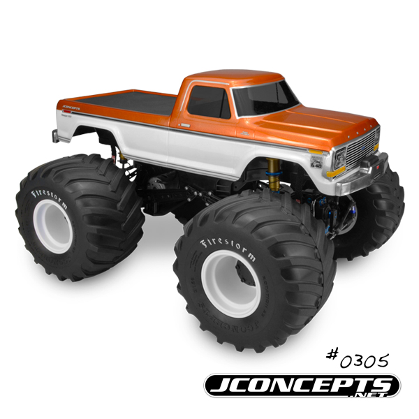 JConcepts 1979 Ford F-250 Monster Truck Body (2)