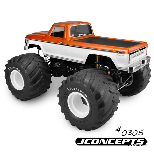 JConcepts 1979 Ford F-250 Monster Truck Body (3)