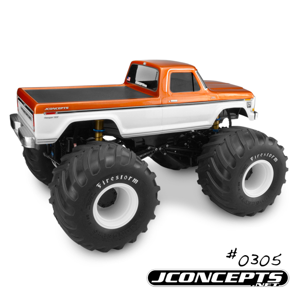 JConcepts 1979 Ford F-250 Monster Truck Body (4)