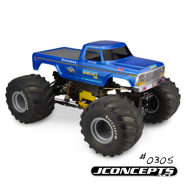 JConcepts 1979 Ford F-250 Monster Truck Body (5)