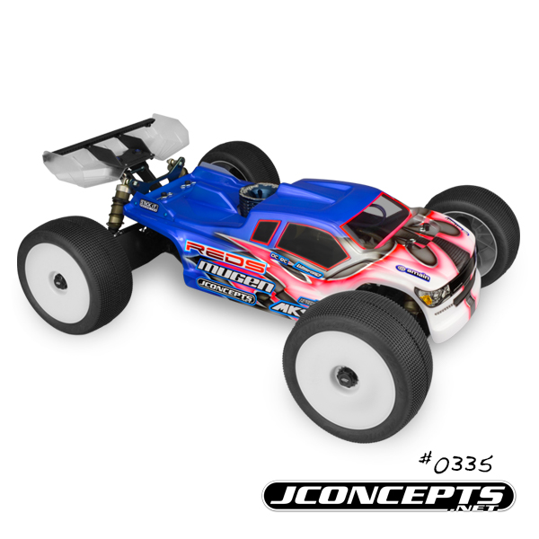 JConcepts Finnisher Body For The Mugen MBX-7TR (2)