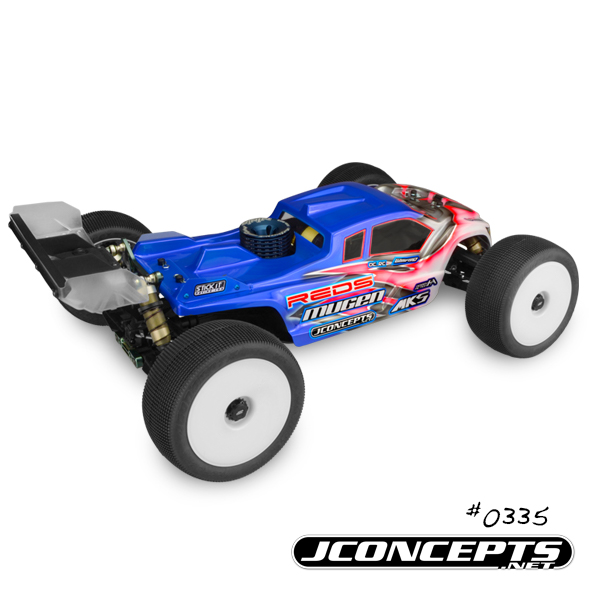 JConcepts Finnisher Body For The Mugen MBX-7TR (4)