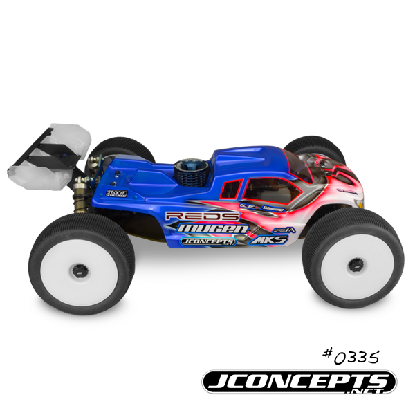JConcepts Finnisher Body For The Mugen MBX-7TR (5)