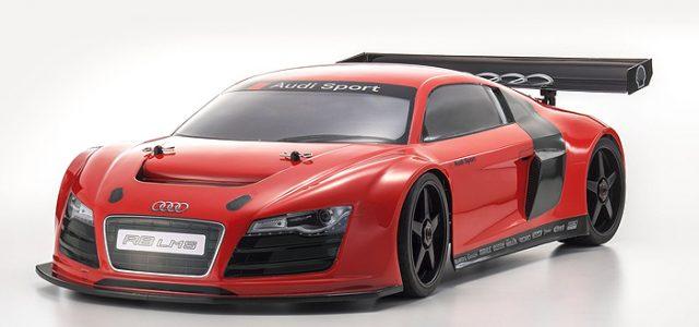 Kyosho ReadySet 1/8 4wd Inferno GT2 Audi R8 LMS