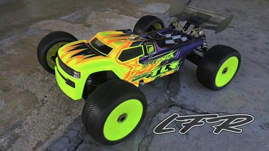 Leadfinger Racing Strife Body For The TLR 8IGHT-T 4.0 (1)