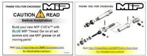 MIP X-Duty Rear C-Drive Kit For The Axial Yeti (2)
