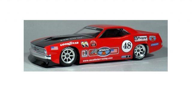 McAllister Racing AAR Cuda VTA Body