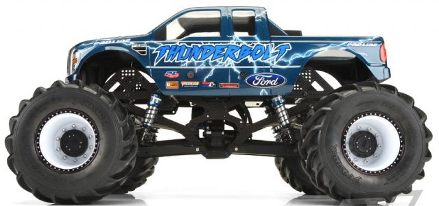 Pro-Line '08 Ford F-250 Body For Solid Axle Monster Trucks