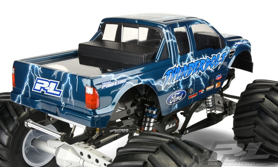 Pro-Line 2008 Ford F-250 Clear Body For Solid Axle Monster Trucks (2)