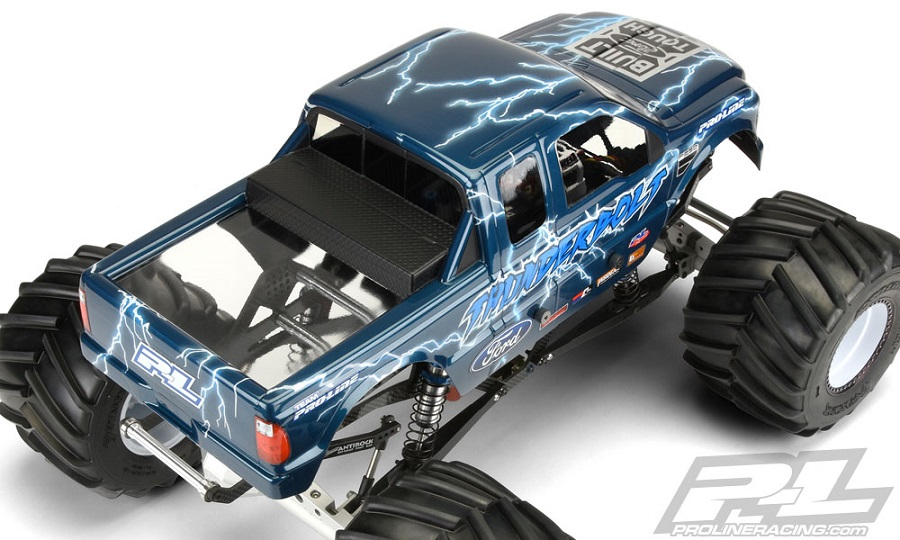 Pro-Line 2008 Ford F-250 Clear Body For Solid Axle Monster Trucks (3)