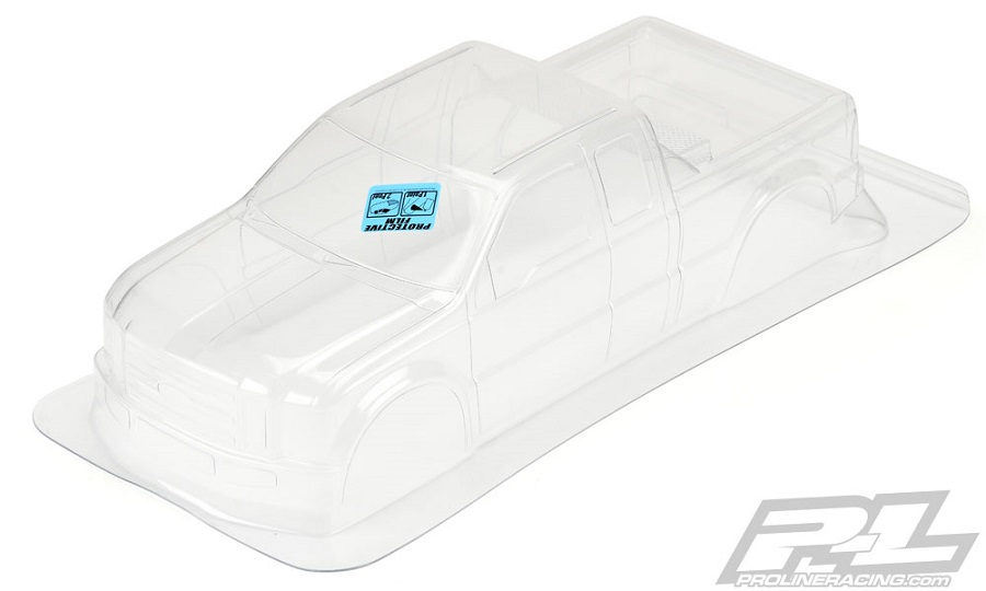 Pro-Line 2008 Ford F-250 Clear Body For Solid Axle Monster Trucks (6)