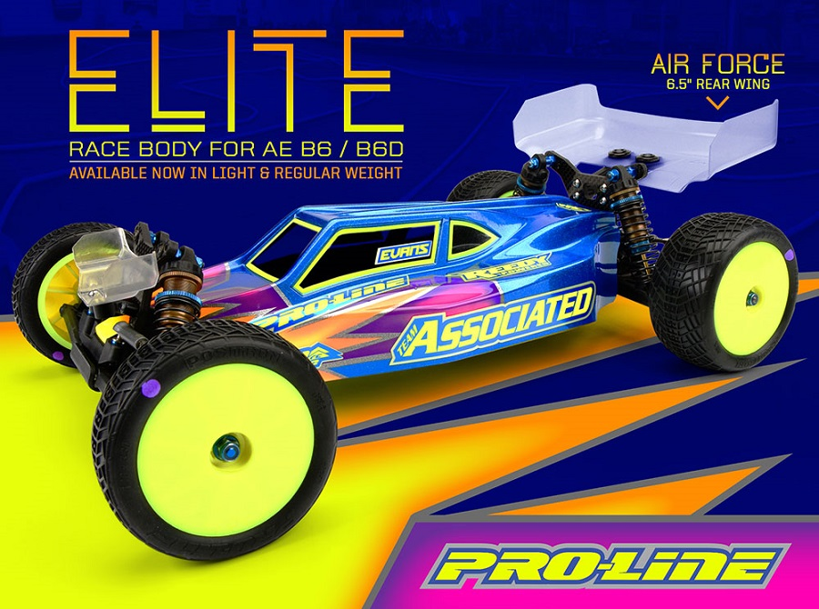 Pro-Line Elite Clear Body For The Team Associated B6 & B6D (1)
