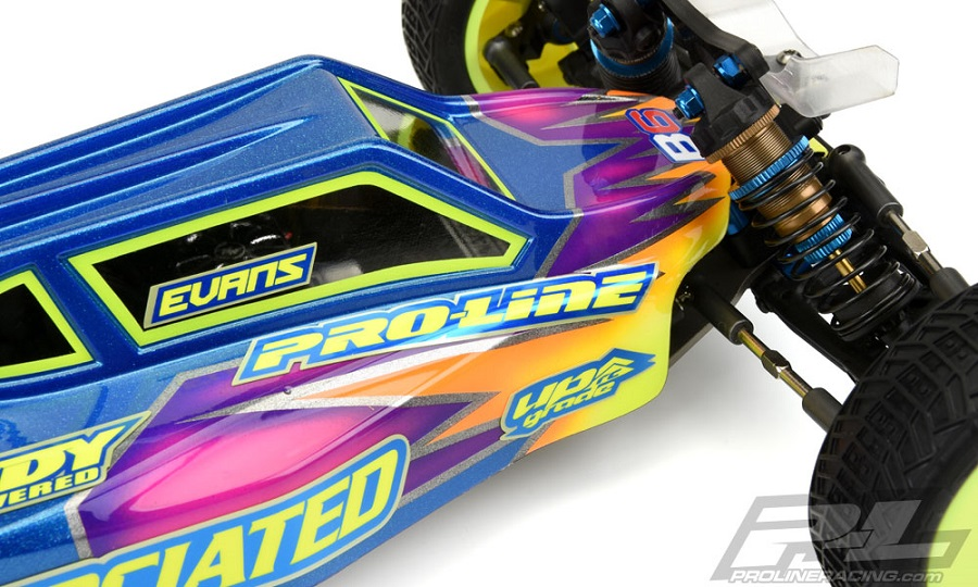 Pro-Line Elite Clear Body For The Team Associated B6 & B6D (8)