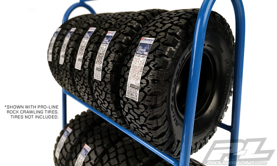 Pro-Line Scale Tire Rack (1)