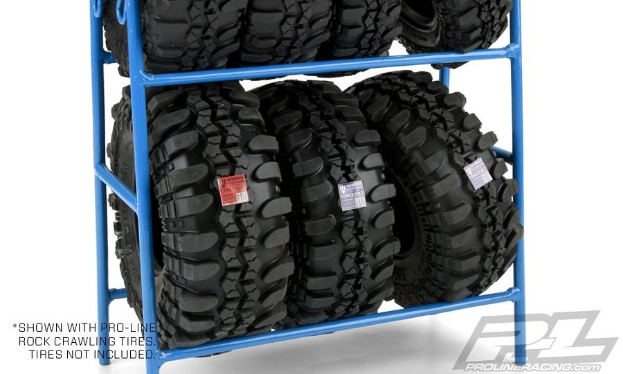 Pro-Line Scale Tire Rack (2)