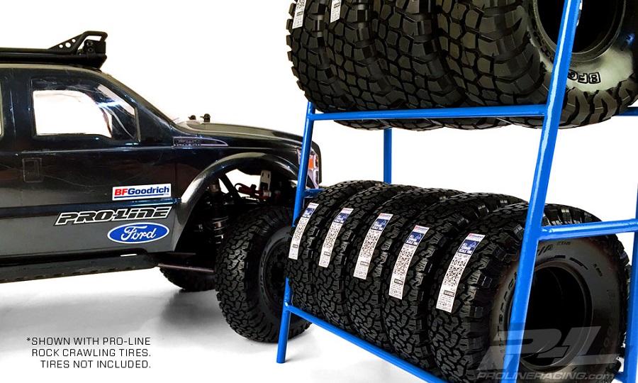Pro-Line Scale Tire Rack (4)