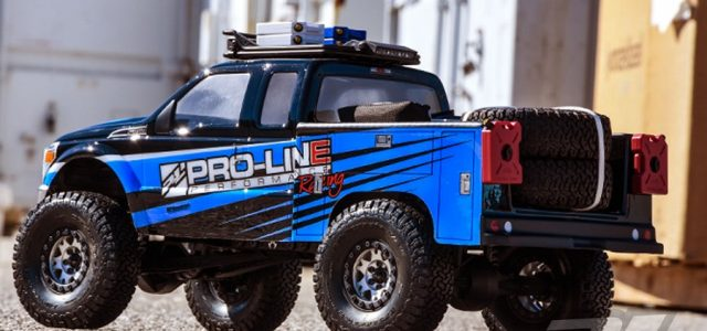 Pro-Line Utility Bed For Honcho Style Crawler Cabs