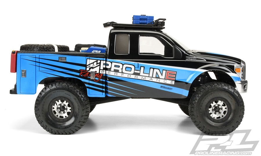 Pro-Line Utility Bed Clear Body For Honcho Style Crawler Cabs (3)